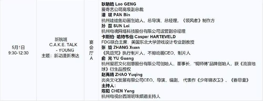 2019中国国际动漫产业高峰论坛活动汇总