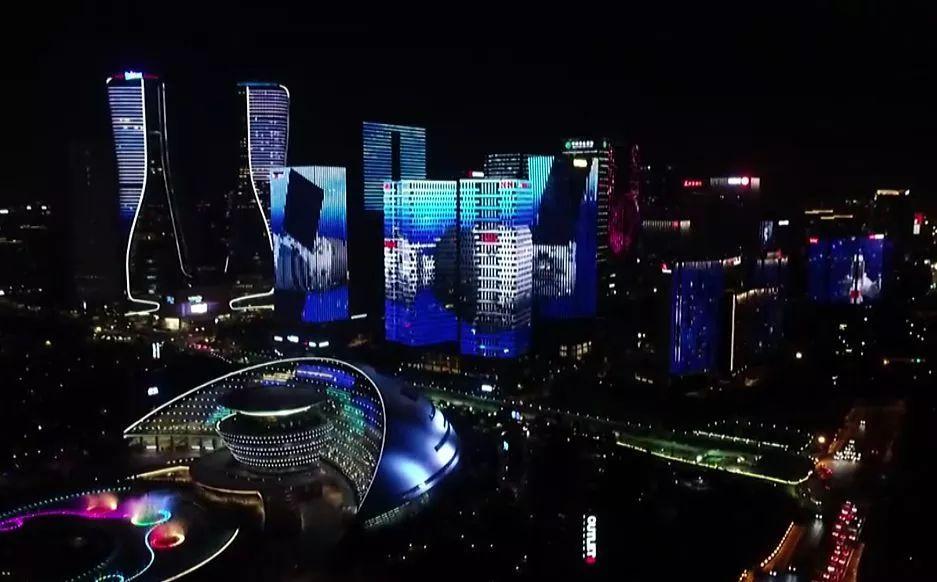 杭州亚洲美食节灯光秀表演时间、地点