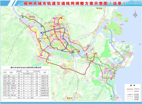 福州市地铁一号线_福州地铁线路规划(附2030年地铁线路规划图)- 福州本地宝