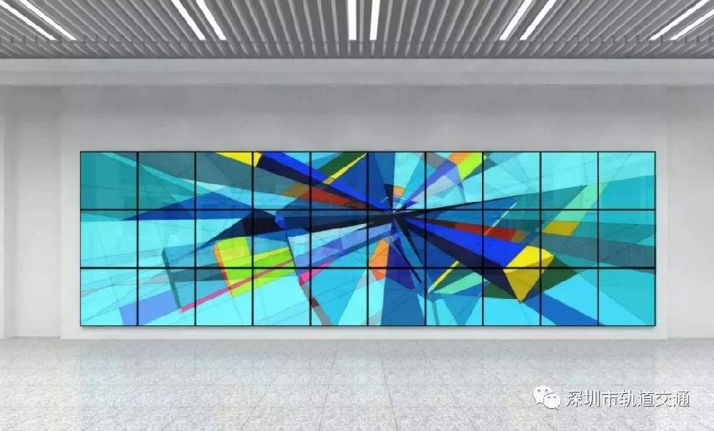 深圳地铁5号线南延线前湾公园站站内实拍图