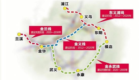 武义旅游_金华规划建设4条轻轨线路连接主城区和6县市- 金华本地宝