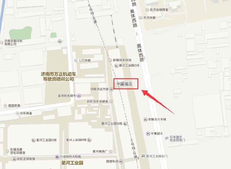 济南地铁R3线盛福庄站详情(最新进展+位置)