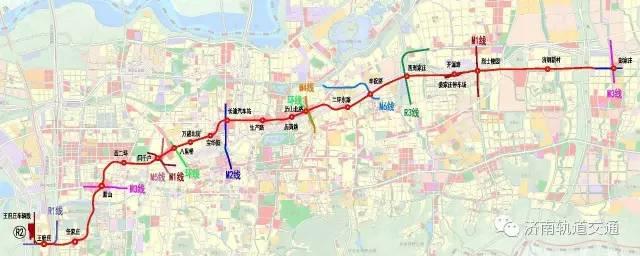 济南地铁R2线最新消息 多个站点在进行管线迁改