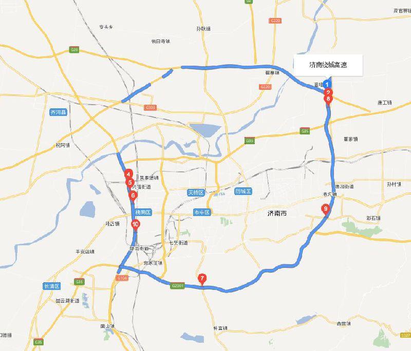 2018济南禁止燃放烟花爆竹区域一览