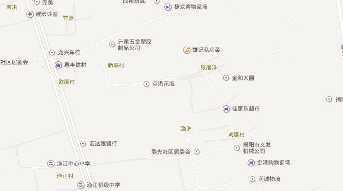 揭阳空港花海怎么走