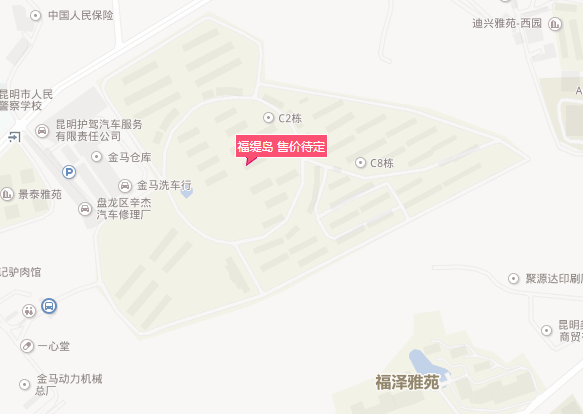 昆明惠客公寓福缇岛在哪里
