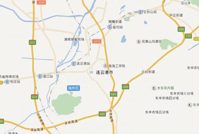 连云港市地图全图高清版