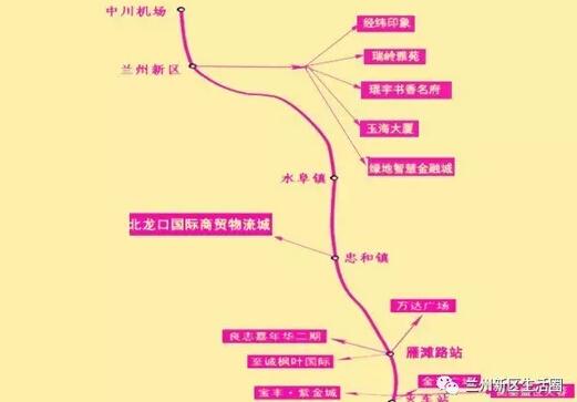 兰州地铁线路规划图_兰州地铁5号线最新消息(线路图+站点)- 兰州本地宝