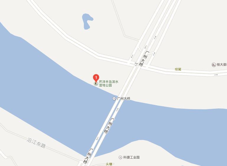 梅州芹洋湿地公园怎么去