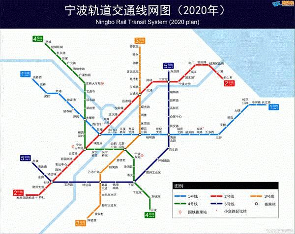 宁波地铁3号线一期线路图图片