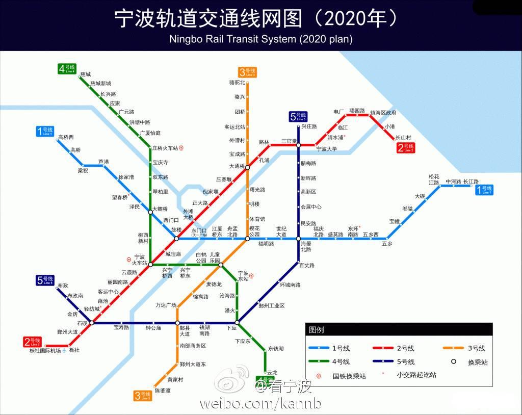 宁波地铁6号线线路图图片