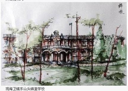 宁波90后文艺男手绘慈溪十景走红