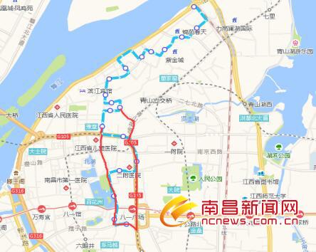 南昌地铁2号线施工 816路27路公交线路调整至8月30日