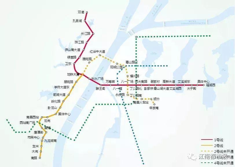 南昌2号线后通段实现全线轨通 开通试运营进入倒计时