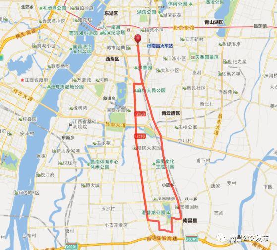 南昌203路公交最新站点及运营时间全指南