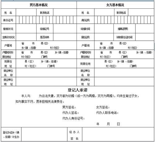 常住人口登记表模板_人口普查登记表下载
