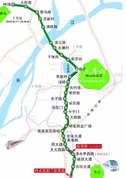 南京地铁线路图10号线 南京地铁3号线10号线路线怎么走图片