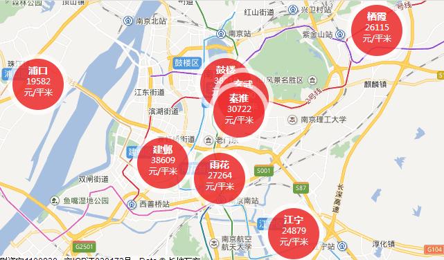 2018南京1月二手房房价走势最新消息
