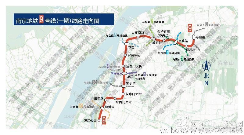 南京地铁1c�{�ޮg� �_南京地铁9号线规划图(最新)