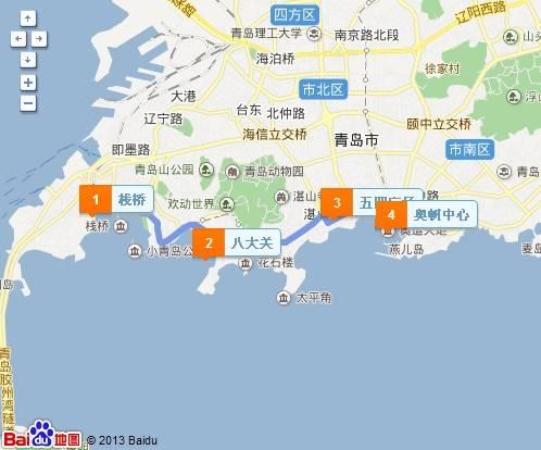 青岛一日游最佳路线推荐