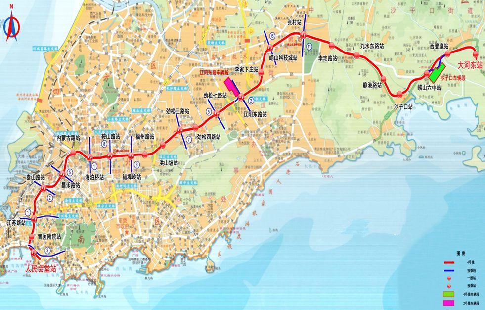 青岛地铁4号线最新消息(持续更新)
