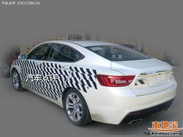 吉利gc9测试车现身襄阳 外观吸睛指数高高清图片