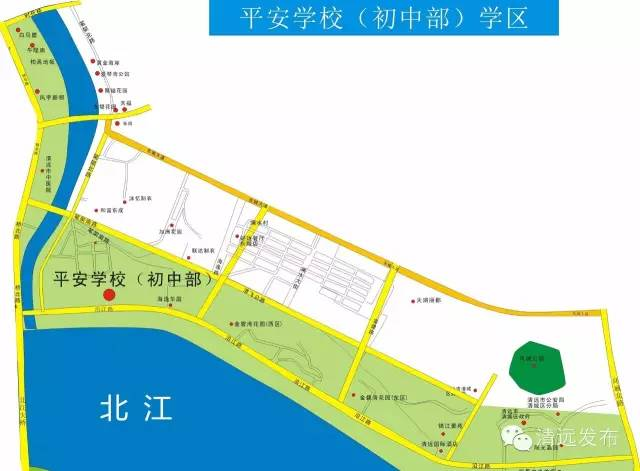 2017年清城区小学小学划分-清远本地宝阳第学区一恩图片