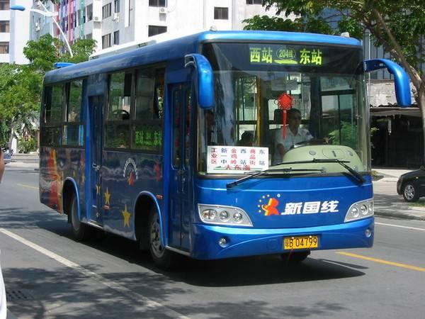 三亚公交车