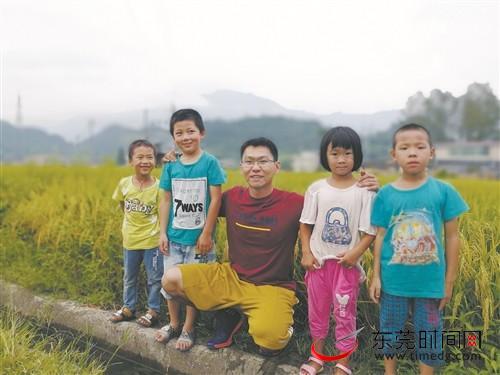 ■张旭辉和他的学生们受访者供图