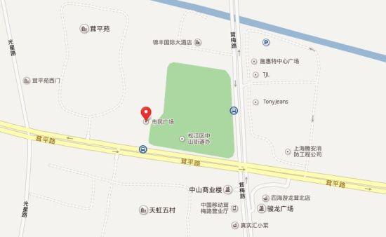青岛至上海地图