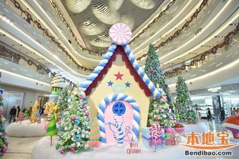 2014上海环贸iapm商场圣诞主题活动