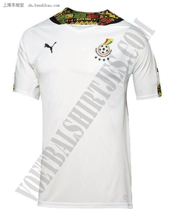 加纳2014巴西世界杯球衣-加纳国家队2014世界杯球衣图片