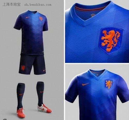 2014世界杯球衣_2014世界杯荷兰队客场队服展示- 上海本地宝