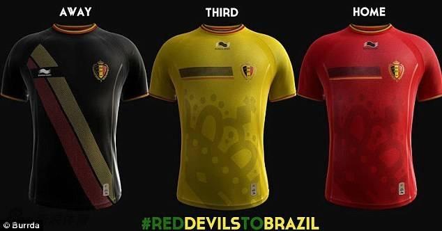 2014世界杯球衣_2014世界杯比利时国家队队服展示- 上海本地宝