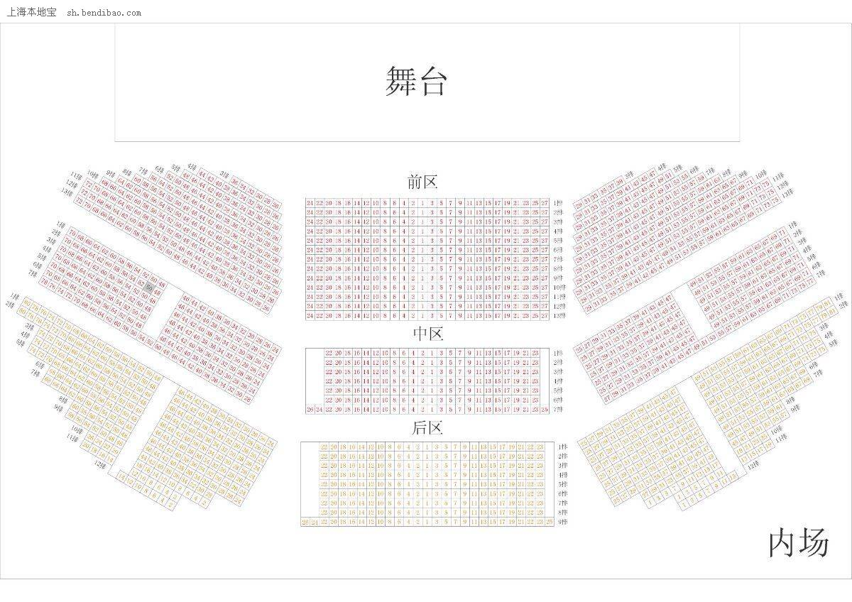 上海大舞台周边+座位图+插座住宿地址预留攻略装修攻略图片
