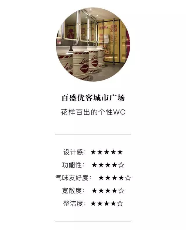 上海商场洗手间大盘点 | 魔都超高颜值WC