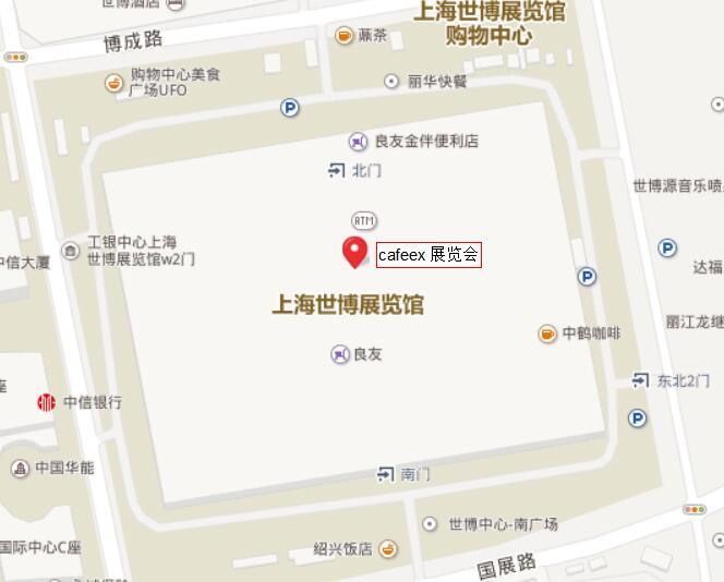 上海世博展览馆交通指南