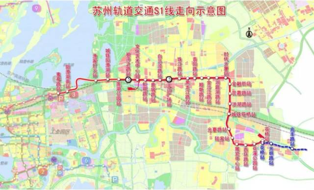 上海地铁11号线将连通苏州S1线 迈入轨交同城时代图片
