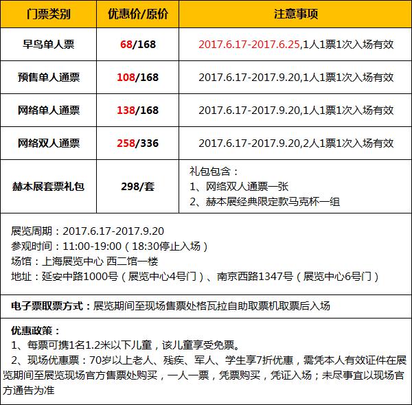 2017上海奥黛丽赫本主题展时间门票攻略(图)