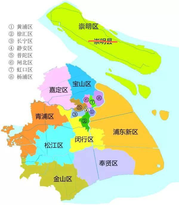 上海16个区最新行政区划名称表公布 各有哪些街道、镇、乡?