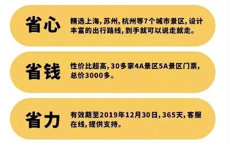 2019上海旅游联票景点大全