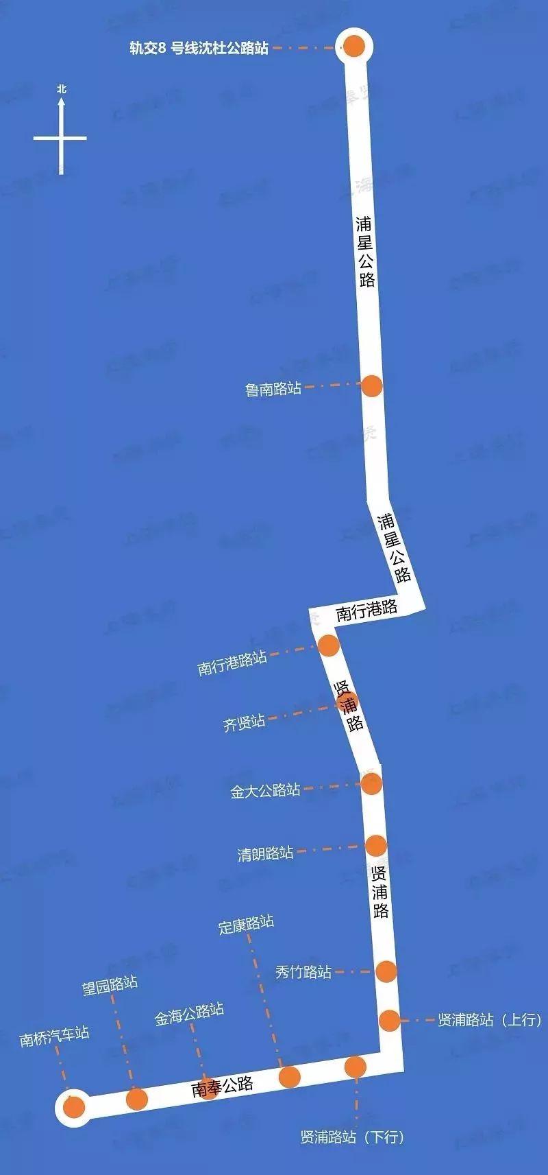 上海首条brt公交奉浦快线4月20日开通 拥有专属车道