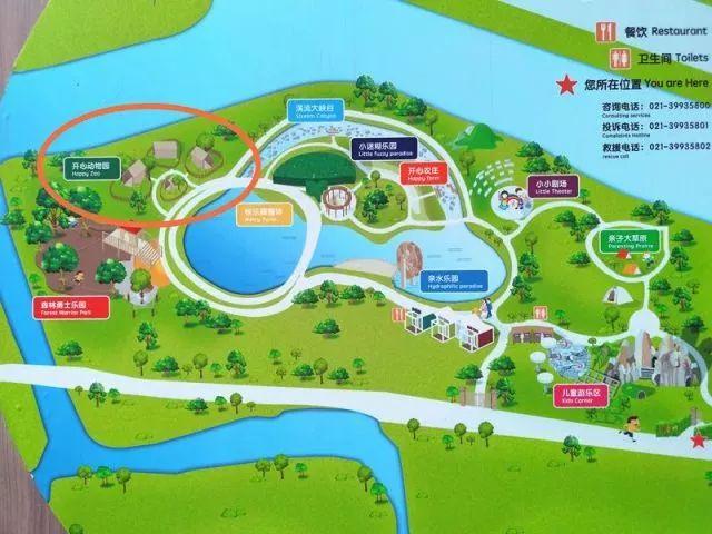 开心动物园地图