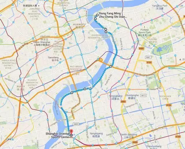 上海五大绝美夜跑圣地  夏夜约起来 (图)