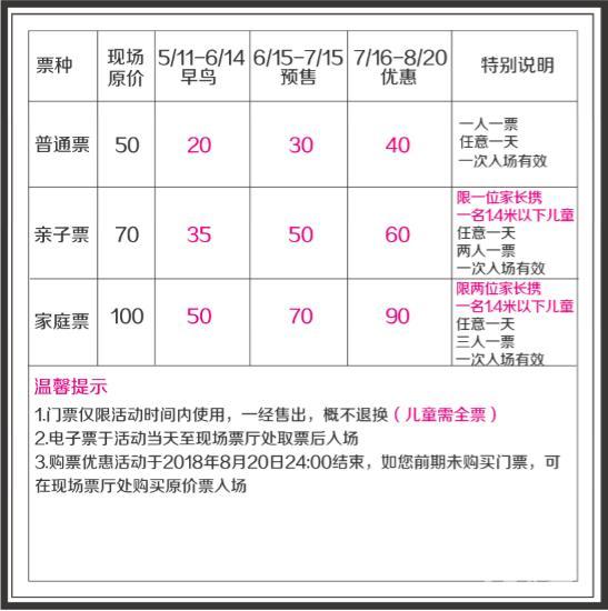 2018上海科博会门票预订 |  附门票种类