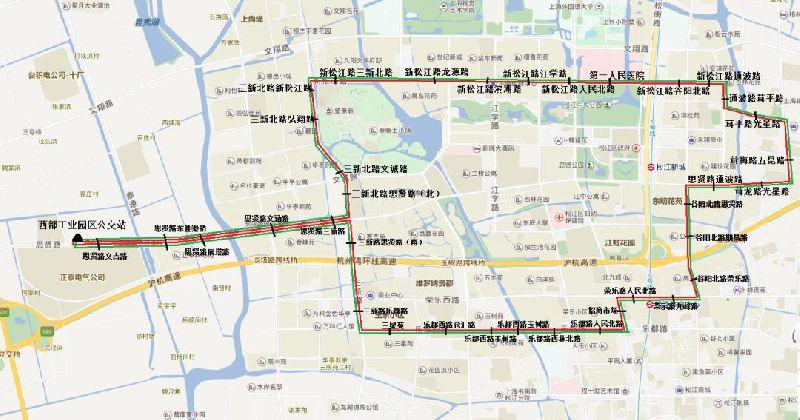 出行提醒!松江14路公交6月起将调整走向
