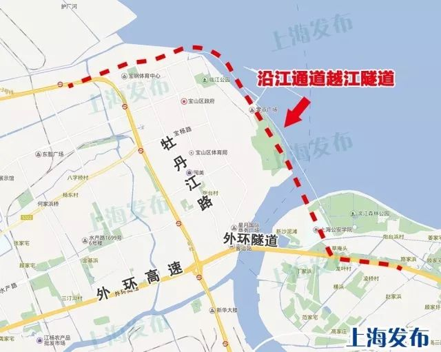 上海郊环闭合工程取得阶段性成果 穿越黄浦江和长江