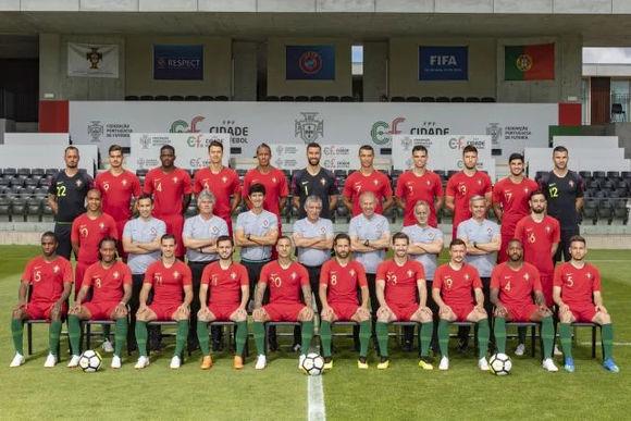 2018世界杯葡萄牙队全家福及队员球衣号码