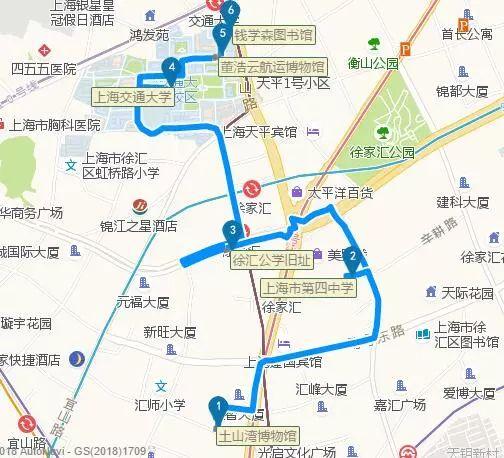 18条特色线路 看遍梧桐树下的徐汇老建筑 (图)