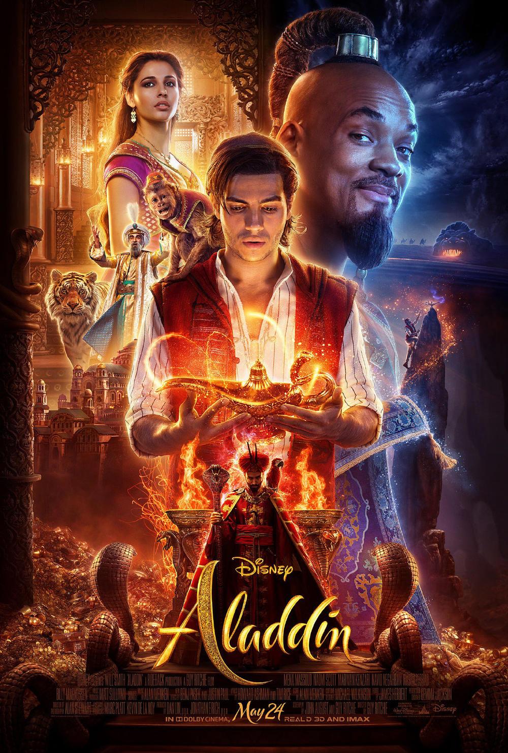 迪士尼《阿拉丁》曝正式预告 5.24北美上映
